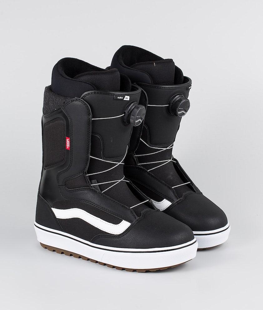 Vans Aura OG Boots Snowboard Black/White 20