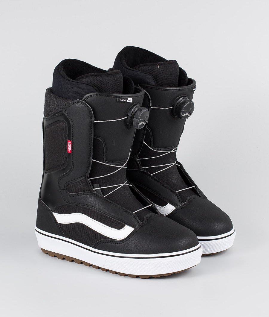 Vans Aura OG Scarponi Snowboard Black/White 20