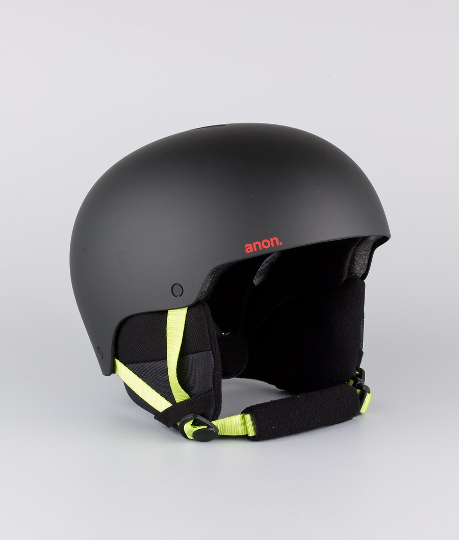 Anon Raider 3 Casco Snow Black Pop