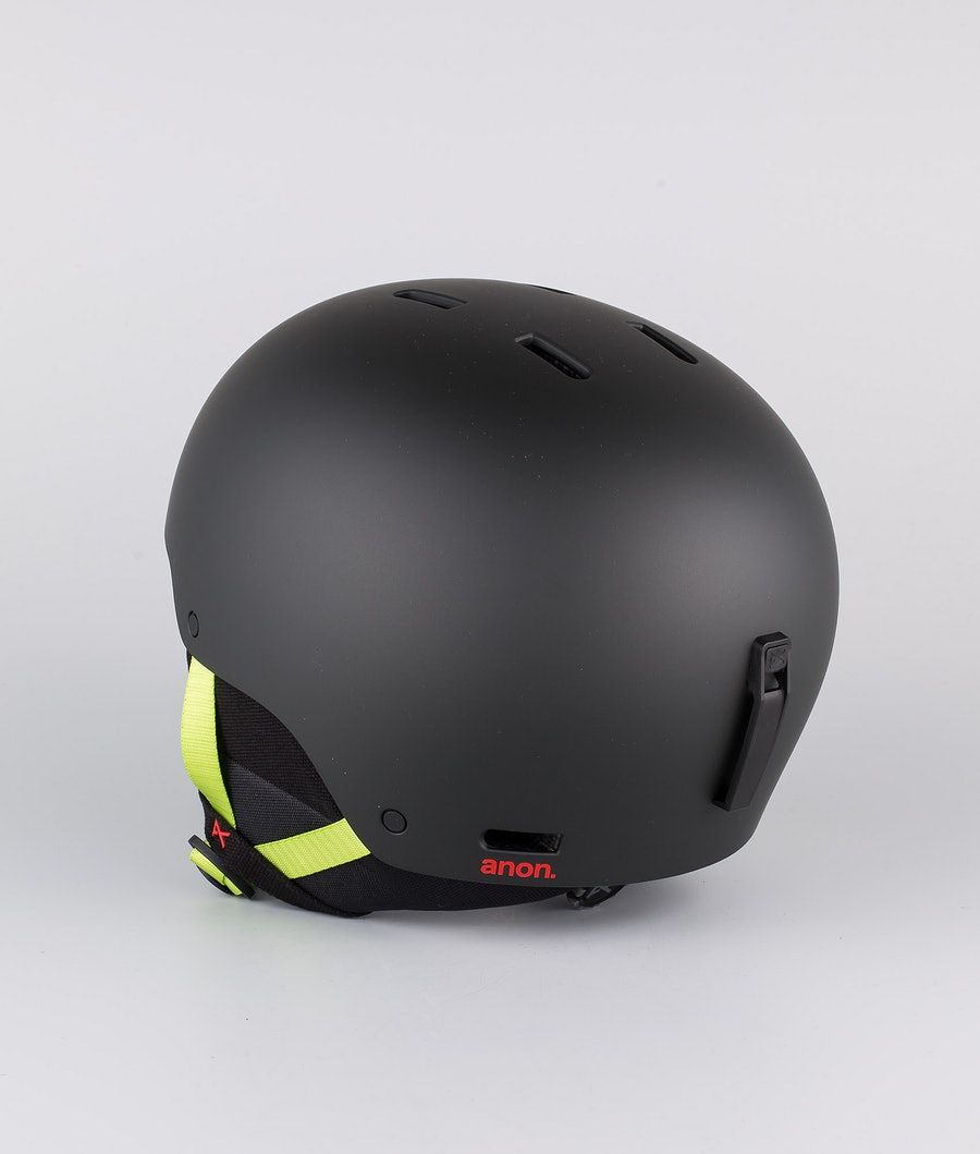 Anon Raider 3 Skihelm Black Pop