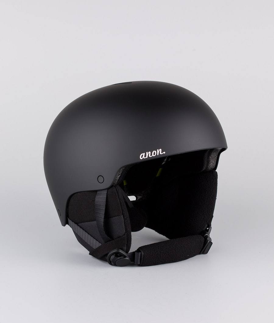 Anon Greta 3 Mips Casco Snow Black