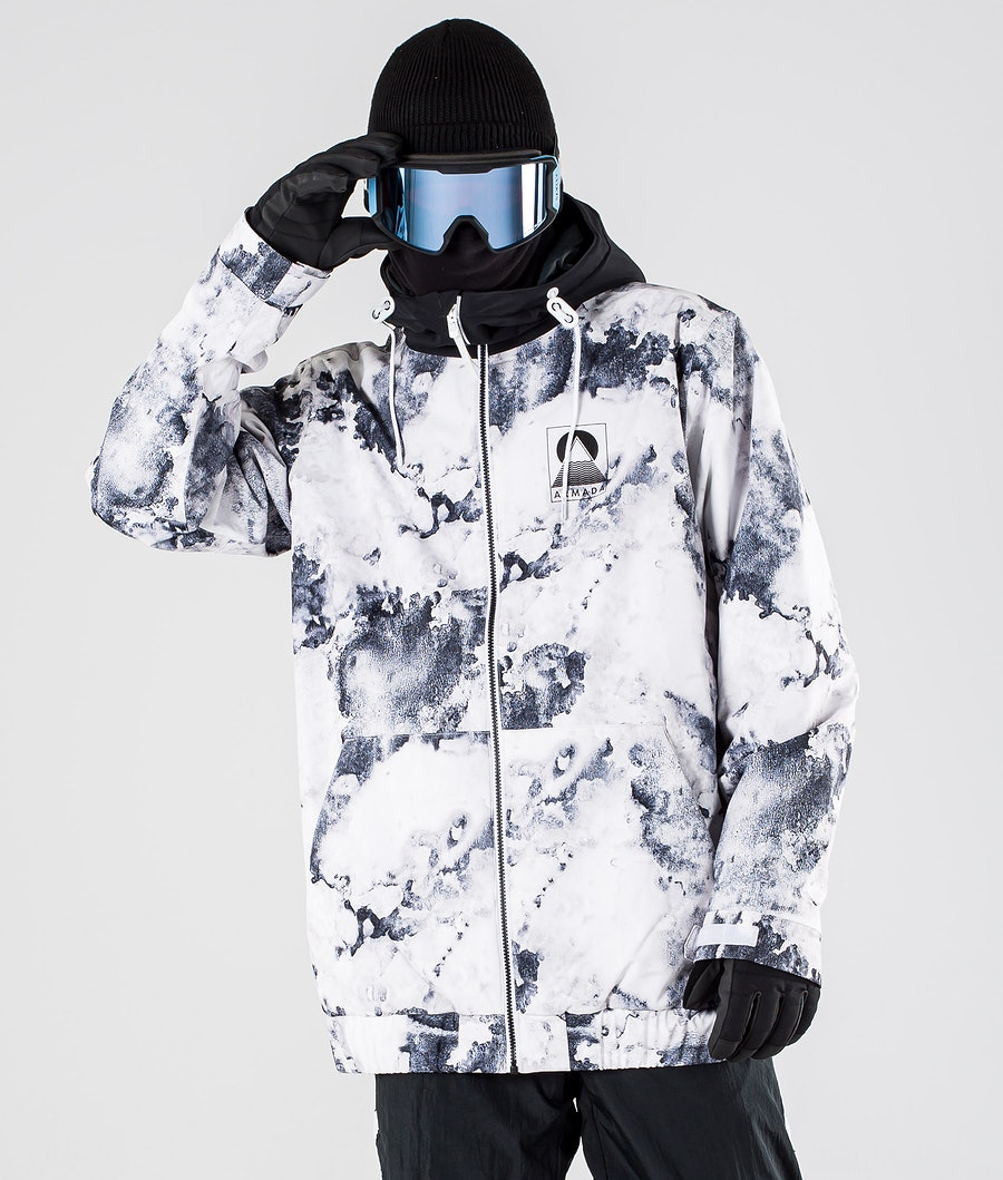 Armada Baxter Insulated Ski Jacket Whitewwater