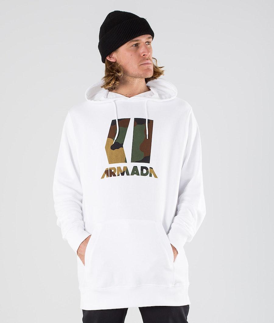 Armada Icon Hoodie White