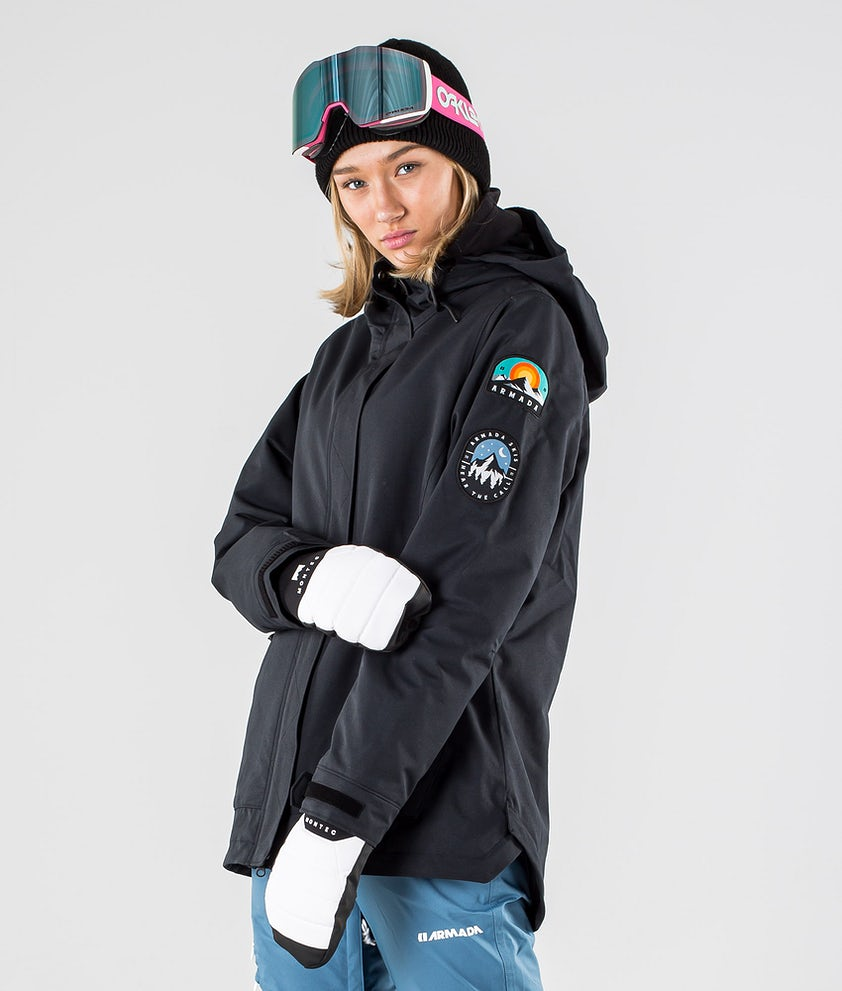 Armada Helena Insulated Ski Jacket Black