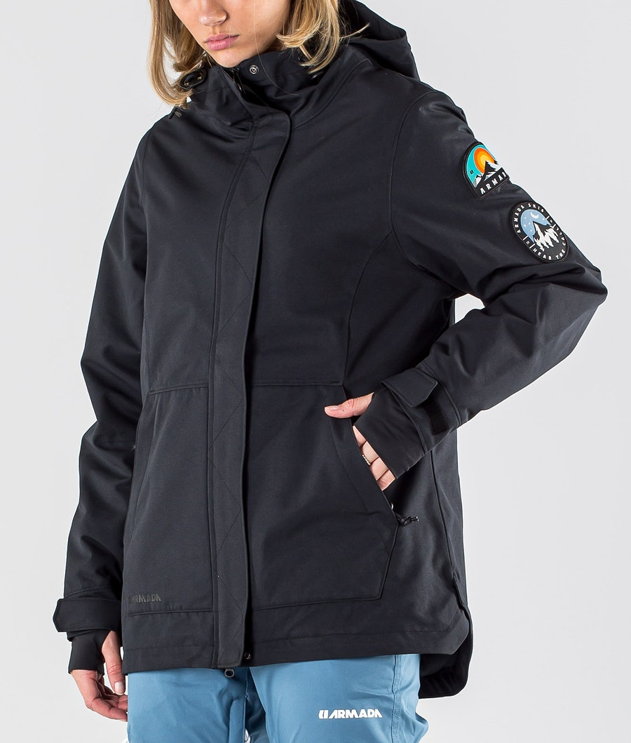 Armada Helena Insulated Women's Ski Jacket Black