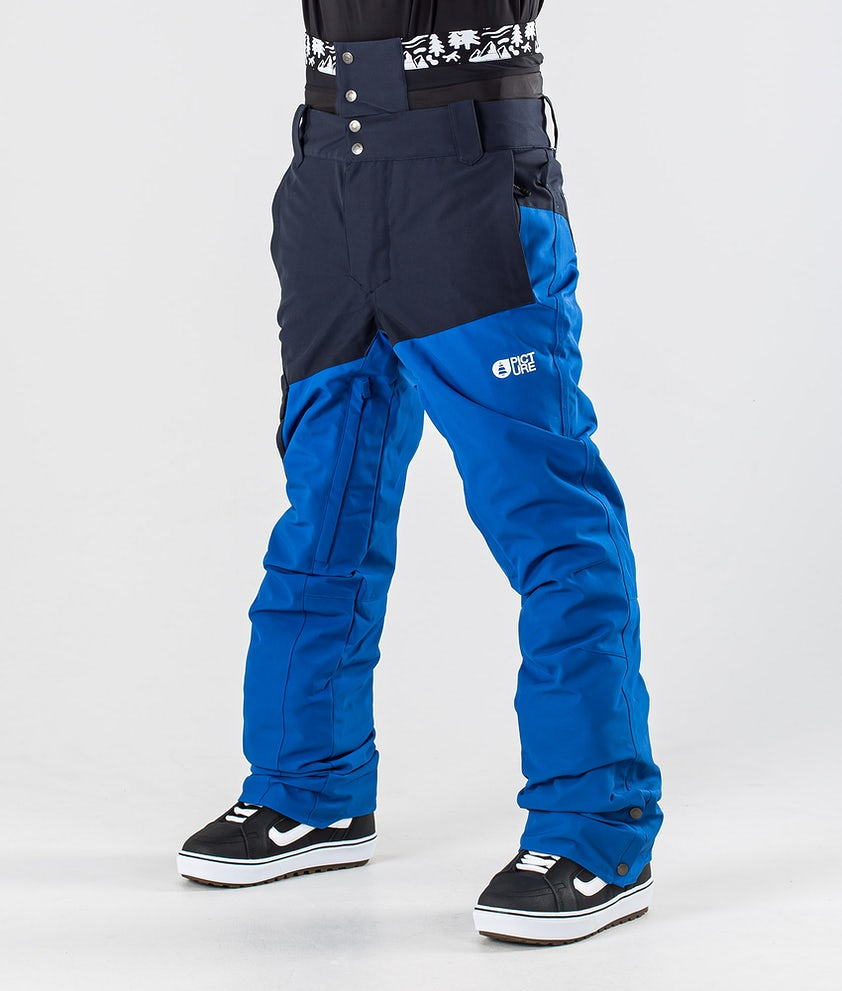Picture Panel Snowboard Pants Dark Blue Picture Blue