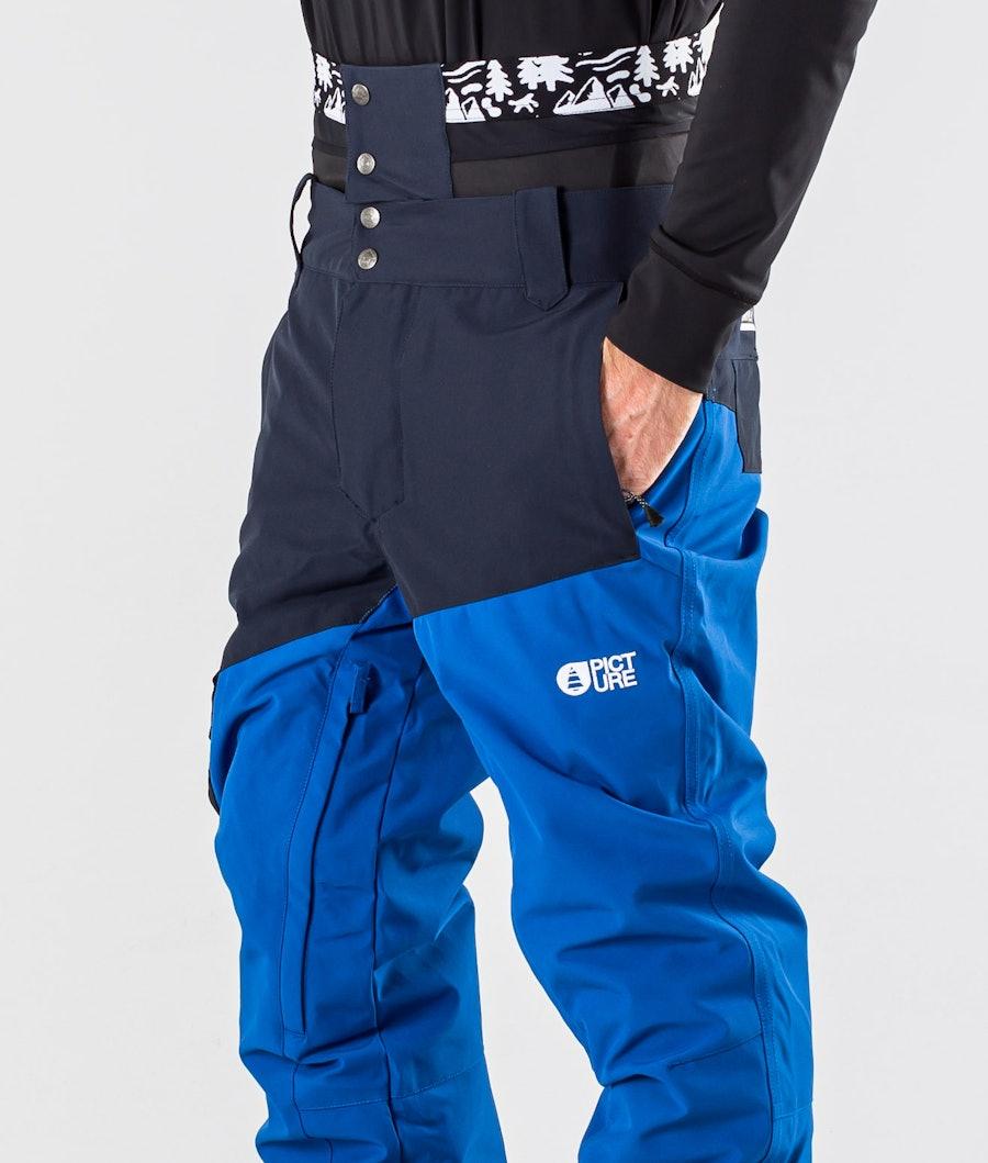 Picture Panel Pantalon de Snowboard Dark Blue Picture Blue