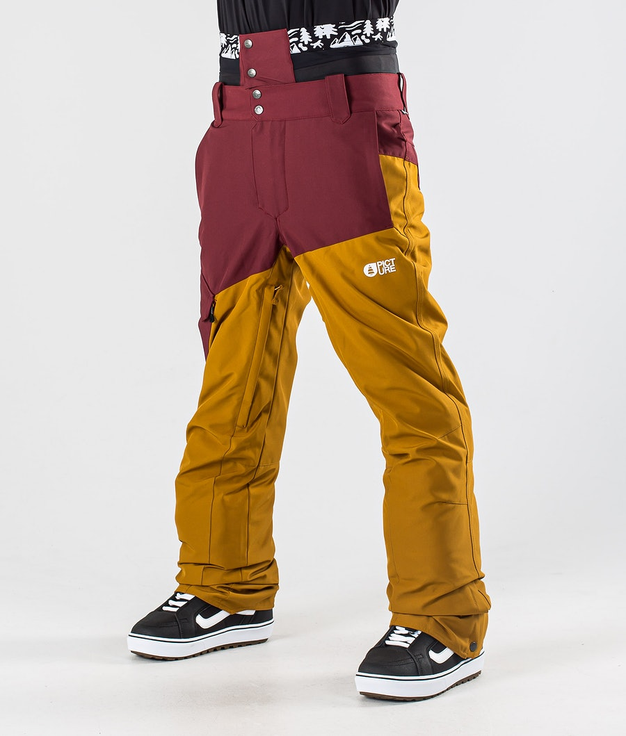 Picture Panel Snowboard Pants Ketchup Camel
