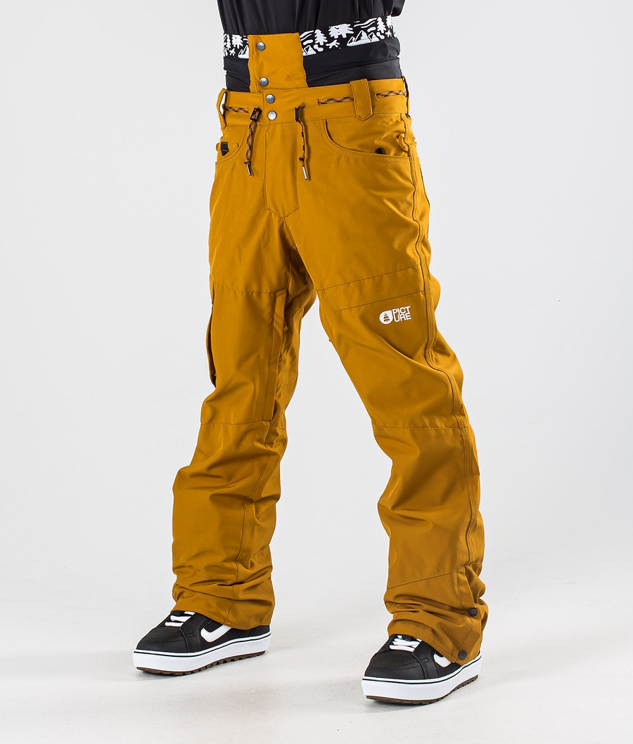 Picture Under Snowboard Pants Camel