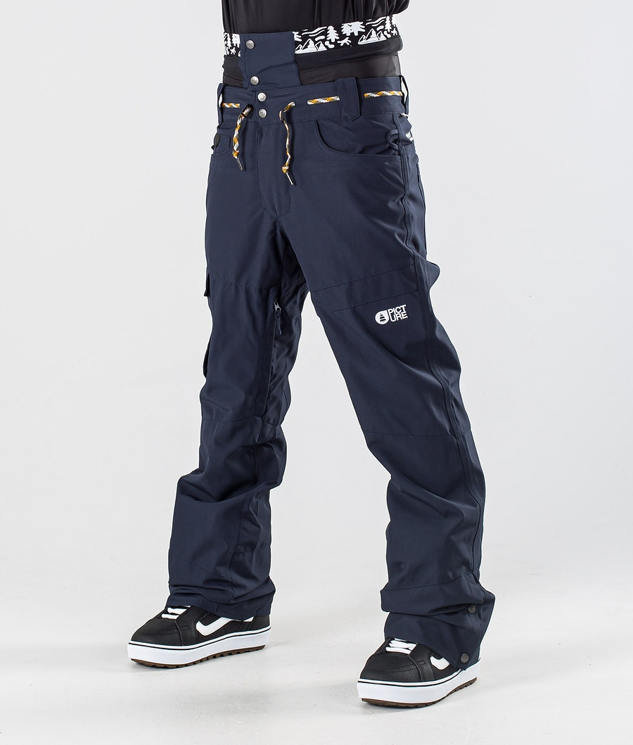 Picture Under Snowboard Pants Dark Blue