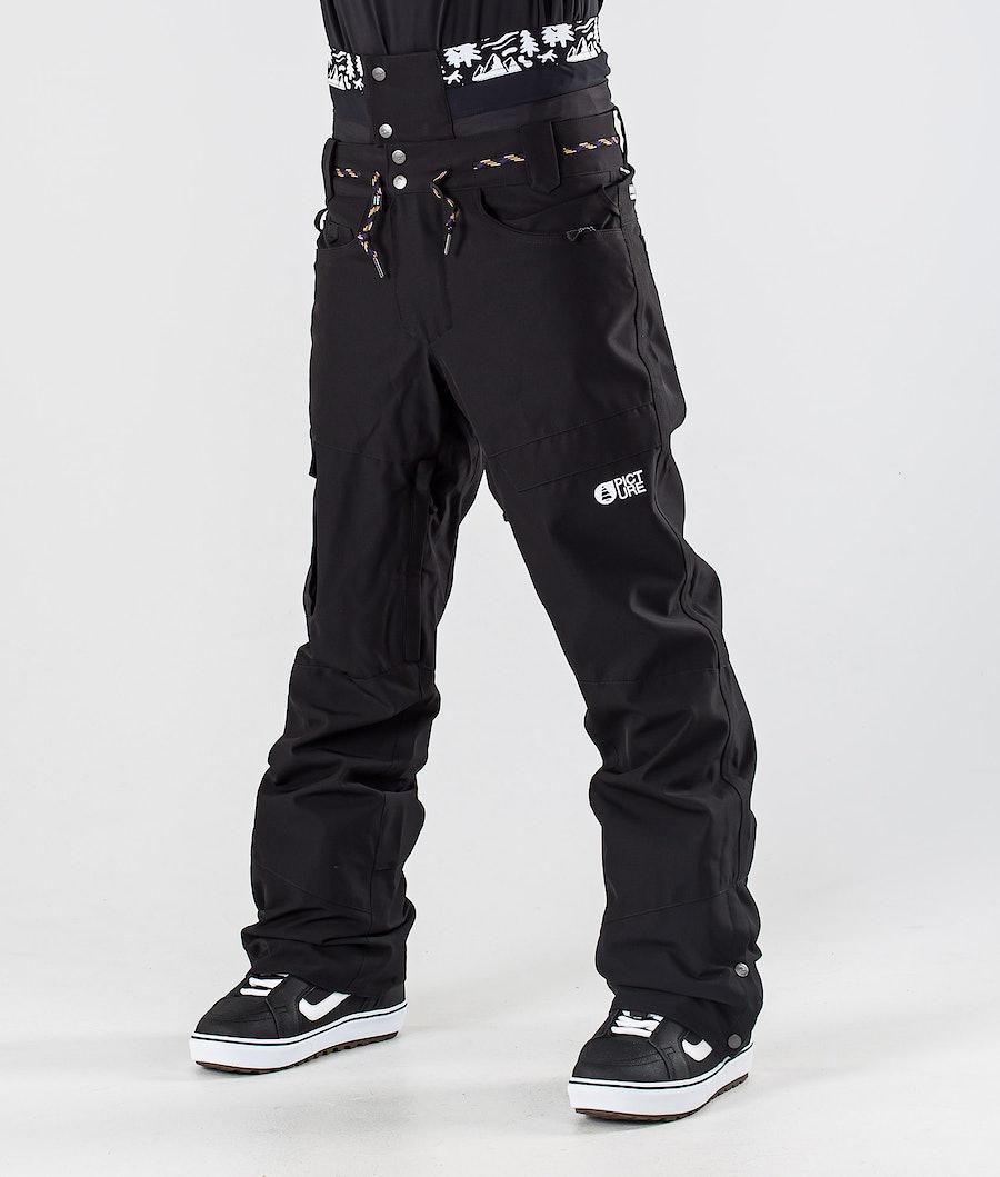 Picture Under Pantalon de Snowboard Black
