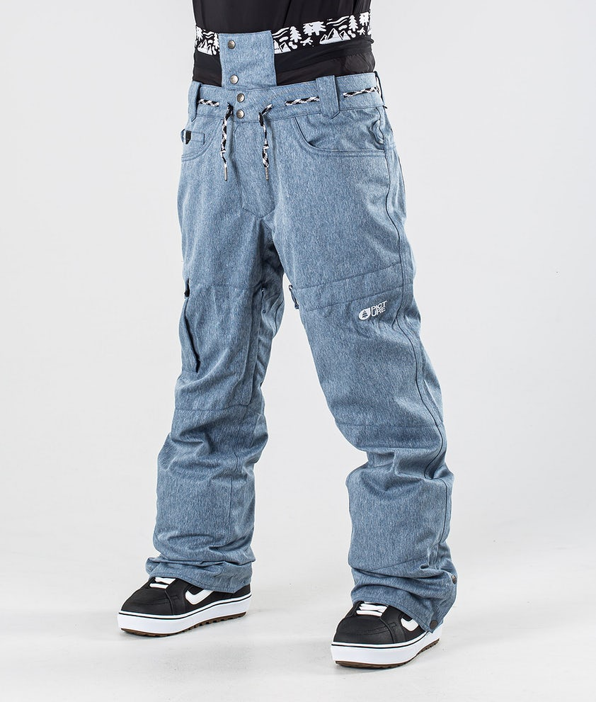 Picture Under Snowboardhose Denim