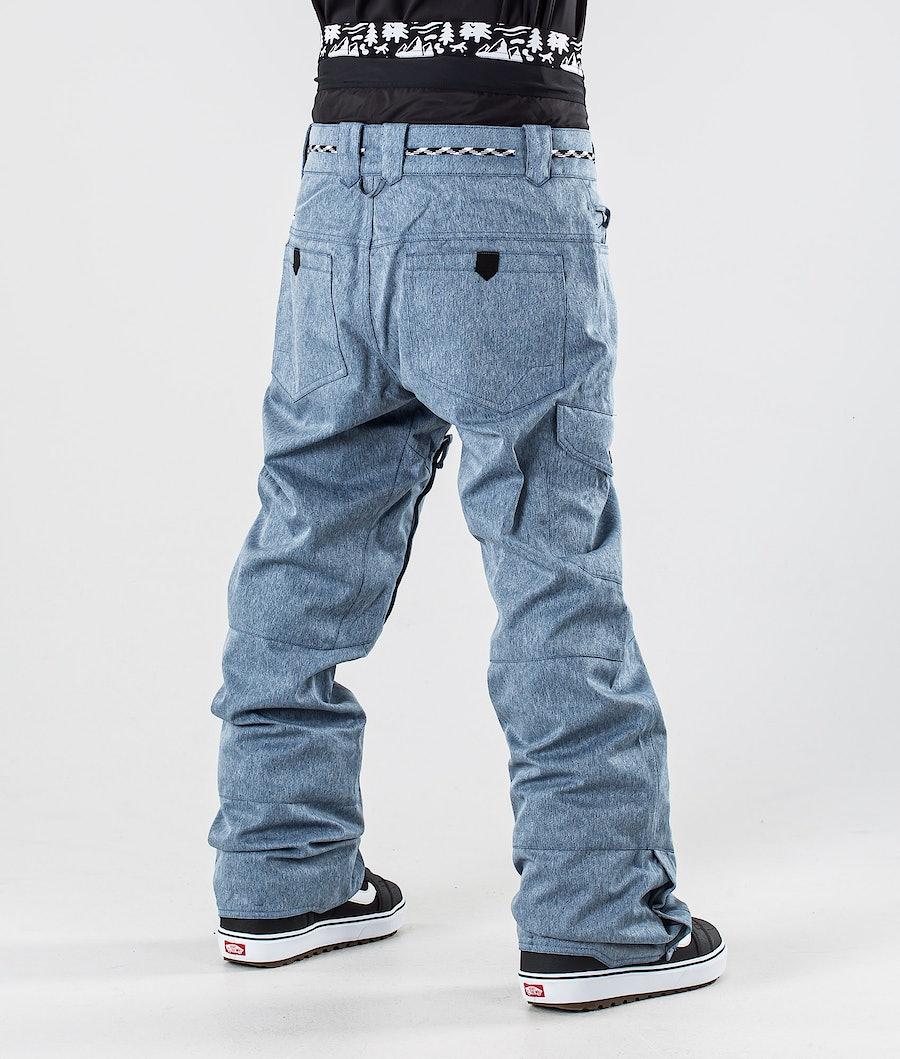 Picture Under Snowboard Pants Denim