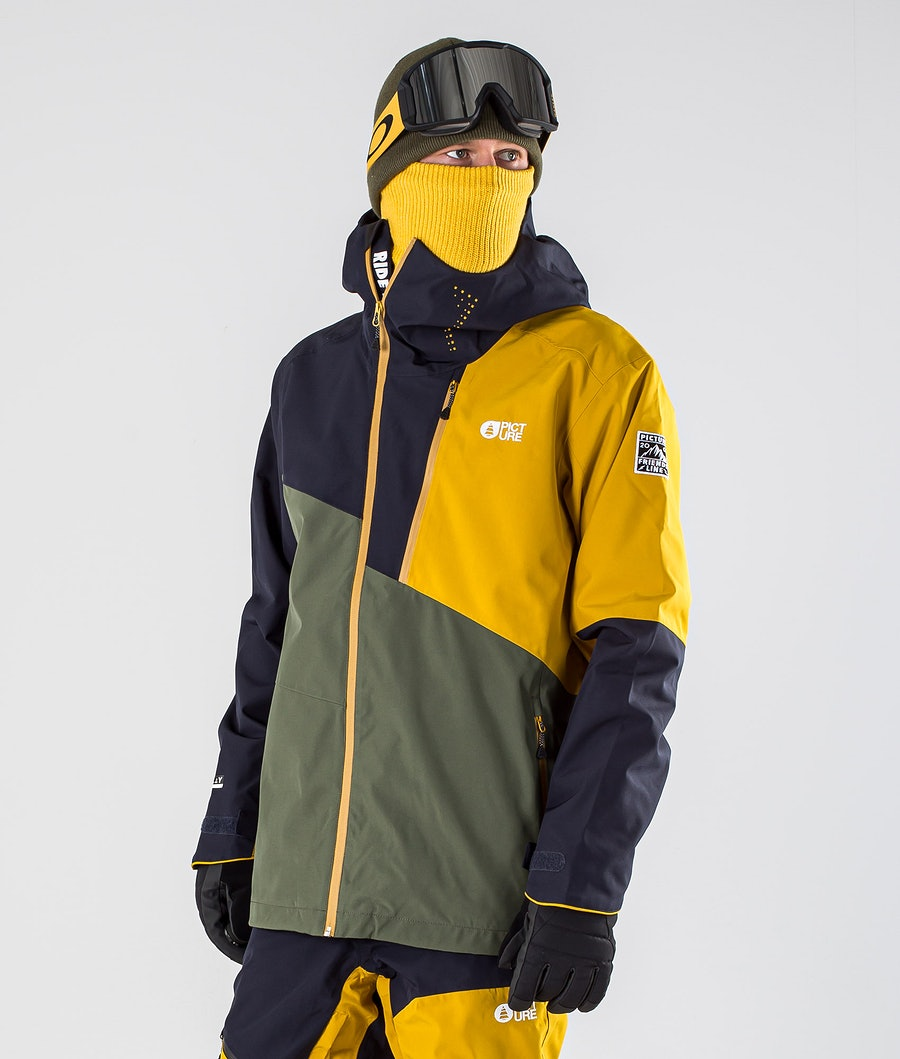 Picture Alpin Snowboard Jacket Lychen Green