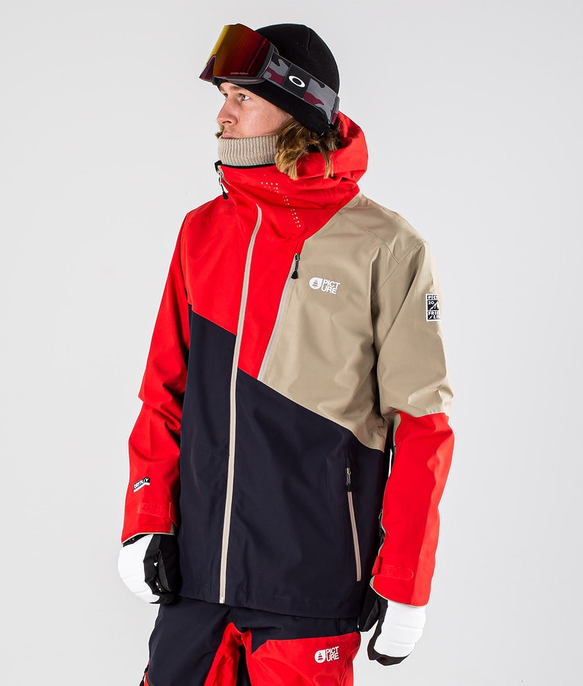 Picture Alpin Snowboardjacka Dark Blue