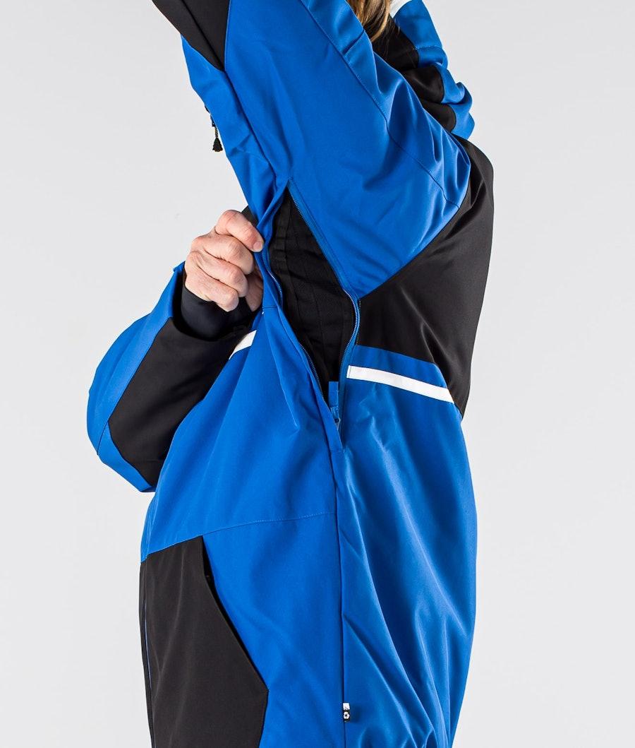 Picture Panel Snowboard Jacket Black Blue