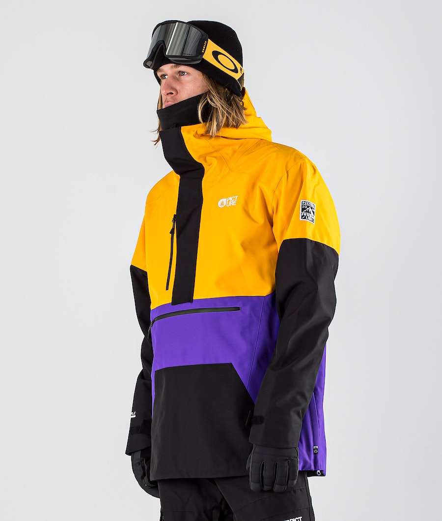 Picture Trifid Snowboard Jacket Yellow Black