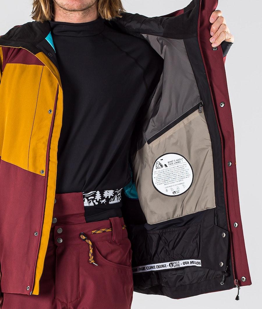 Picture Styler Snowboardjacka Camel Ketchup