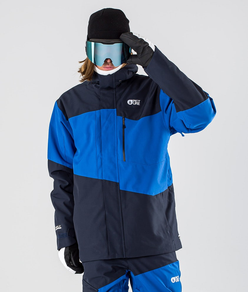 Picture Styler Snowboard Jacket Blue Dark Blue
