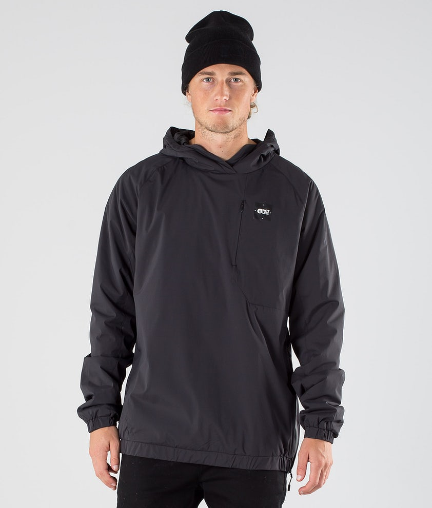 Picture Cream Tech Hood Black
