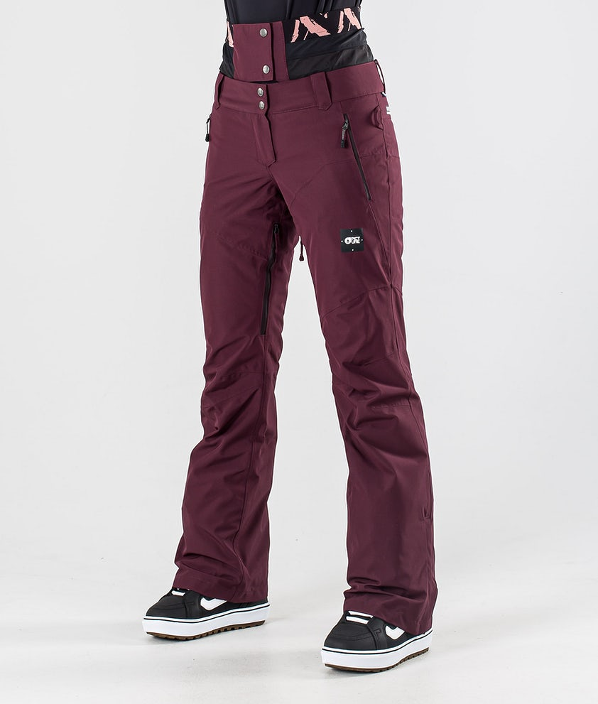 Picture Exa Snowboard Pants Burgundy