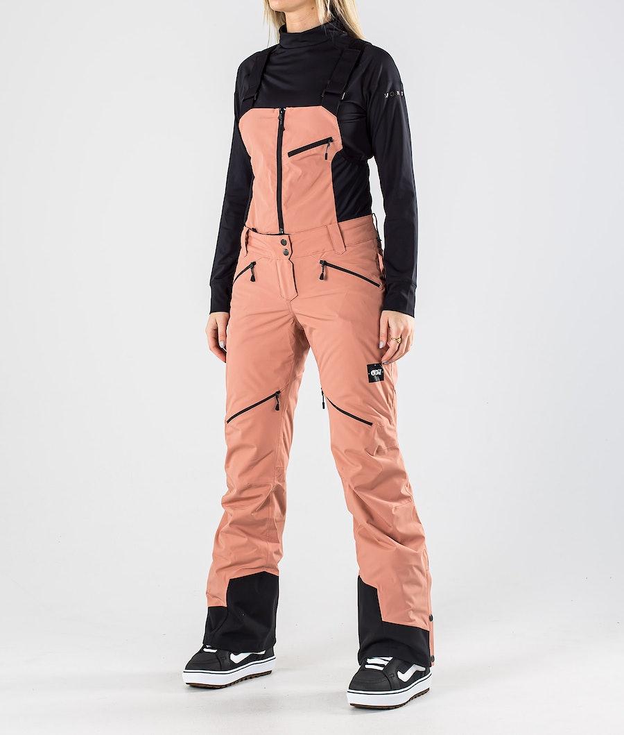 Picture Haakon Bib Snowboardhose Misty Pink