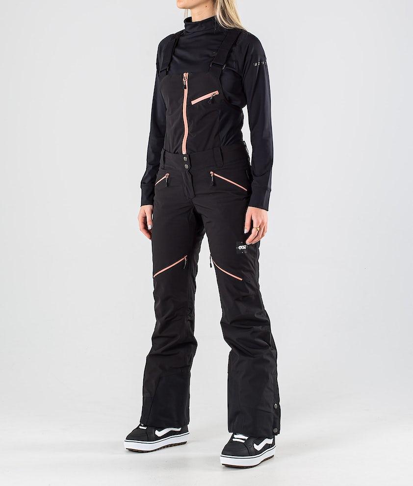 Picture Haakon Bib Snowboardhose Black