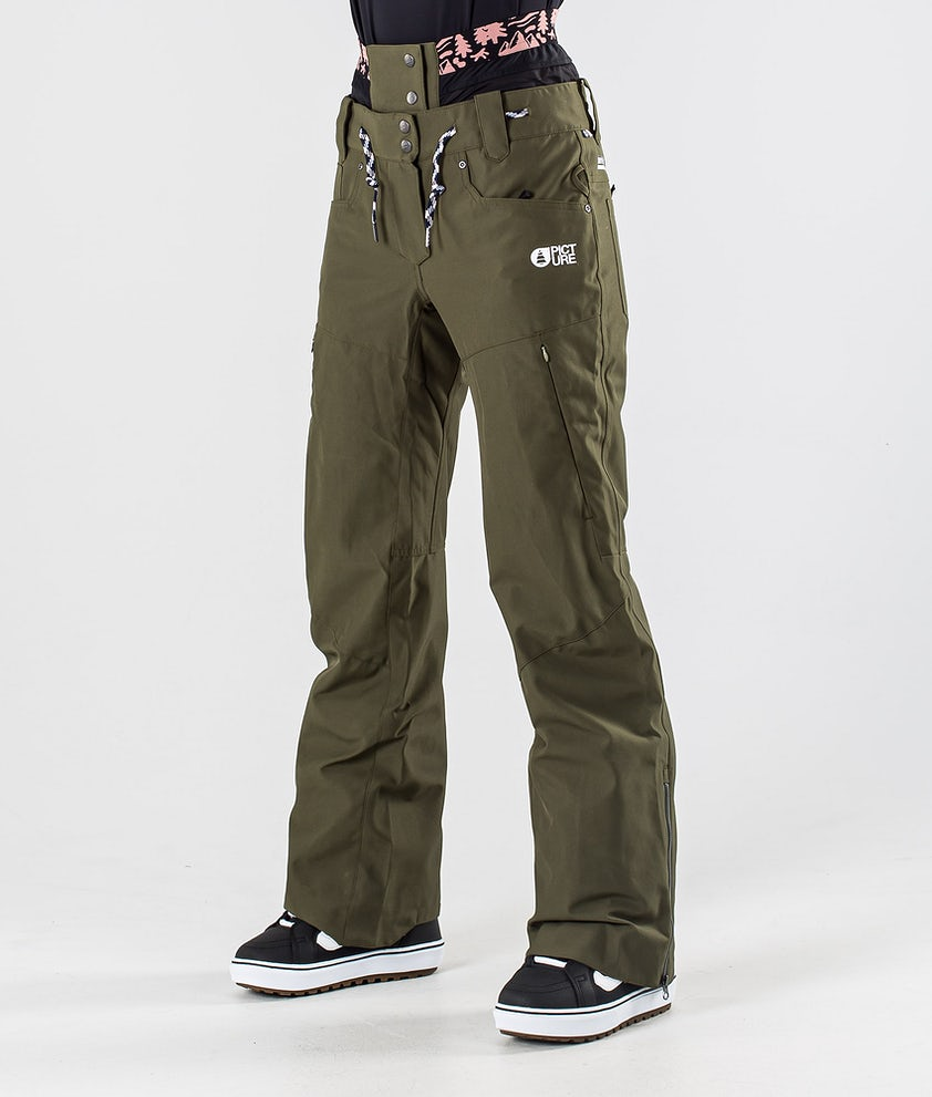 Picture Slany Snowboardbyxa Army Green