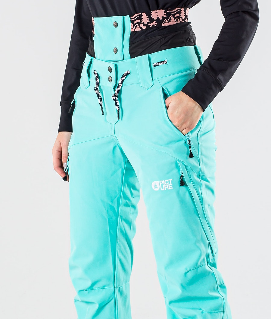 Picture Treva Pantaloni da Snowboard Donna Turquoise