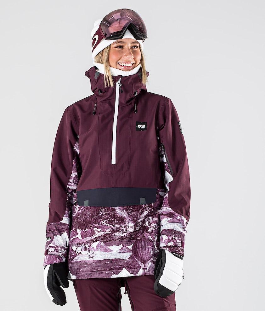 Picture Tanya Snowboardjacka Burgundy