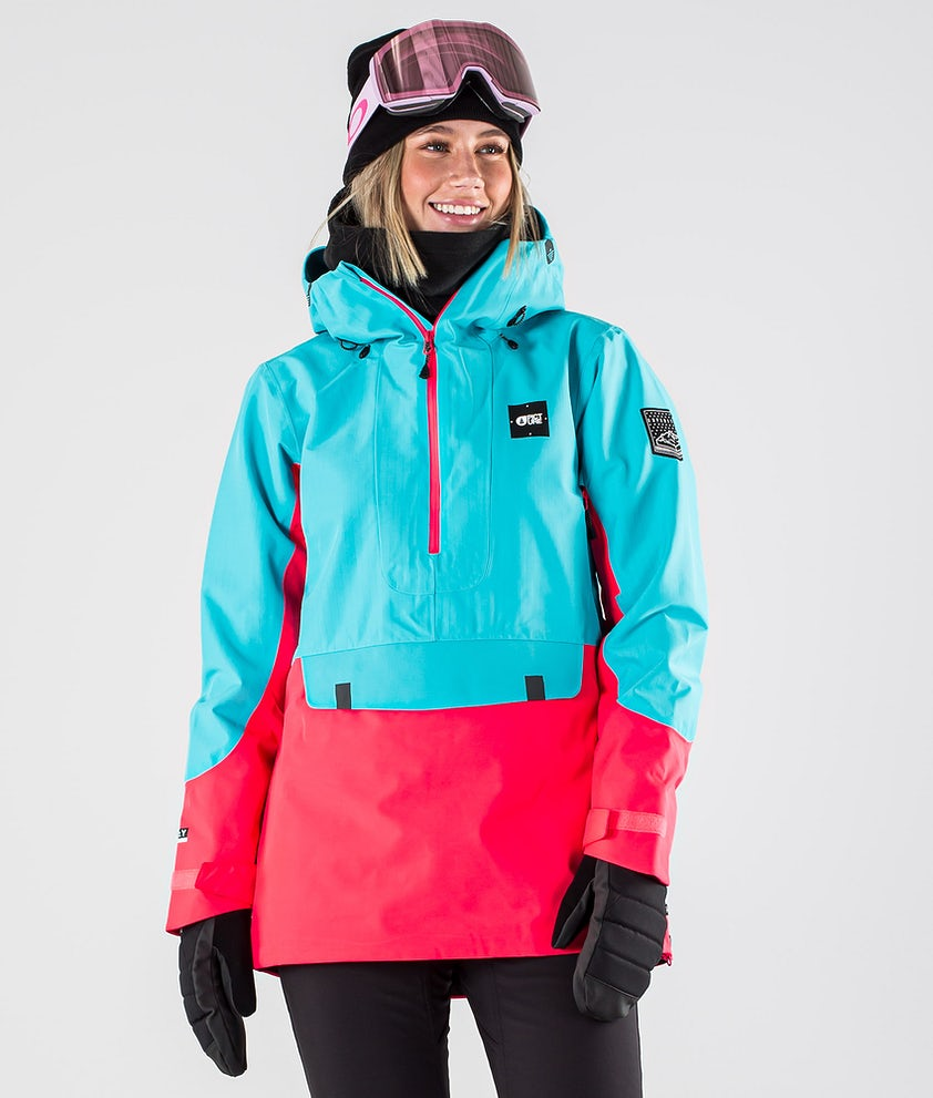 Picture Tanya Snowboardjacka Light Blue Pink