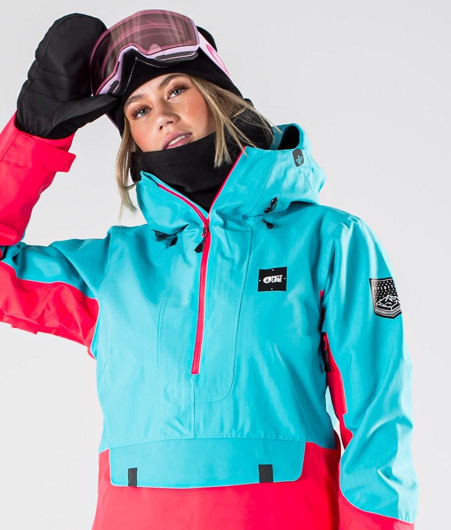 Picture Tanya Snowboardjacka Dam Light Blue Pink