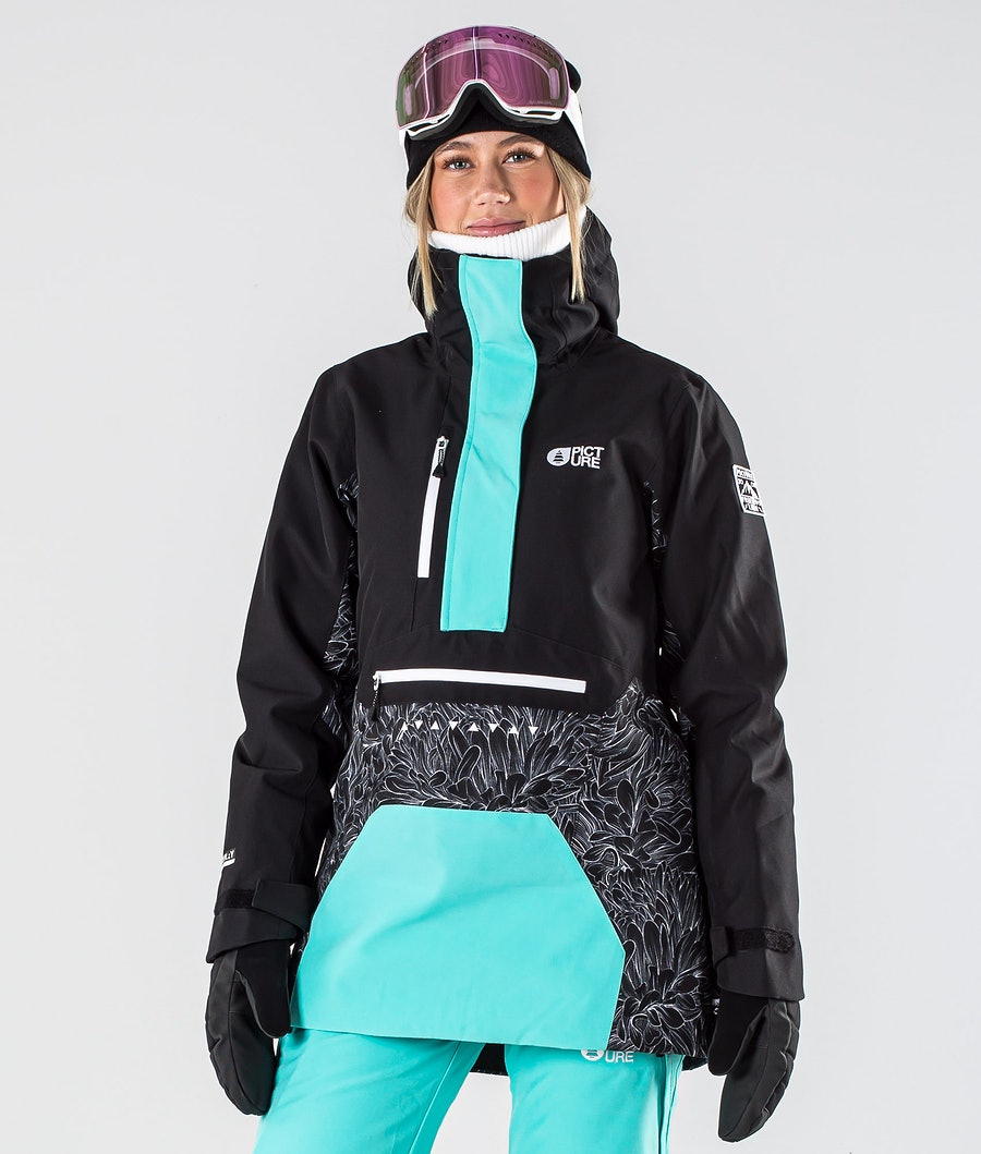 Picture Season Giacca da Snowboard Feathers Black