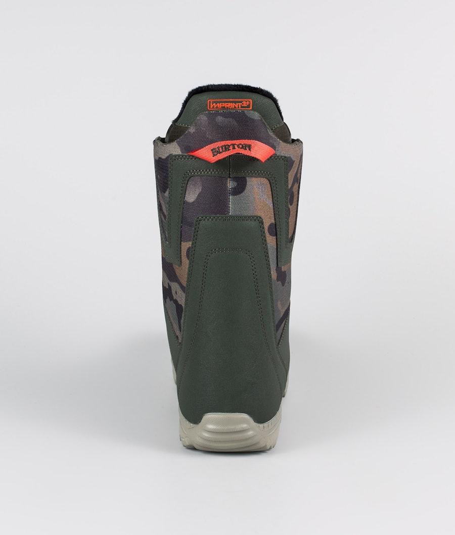 Burton Moto Boa Snowboard Boots Dark Green/Camo