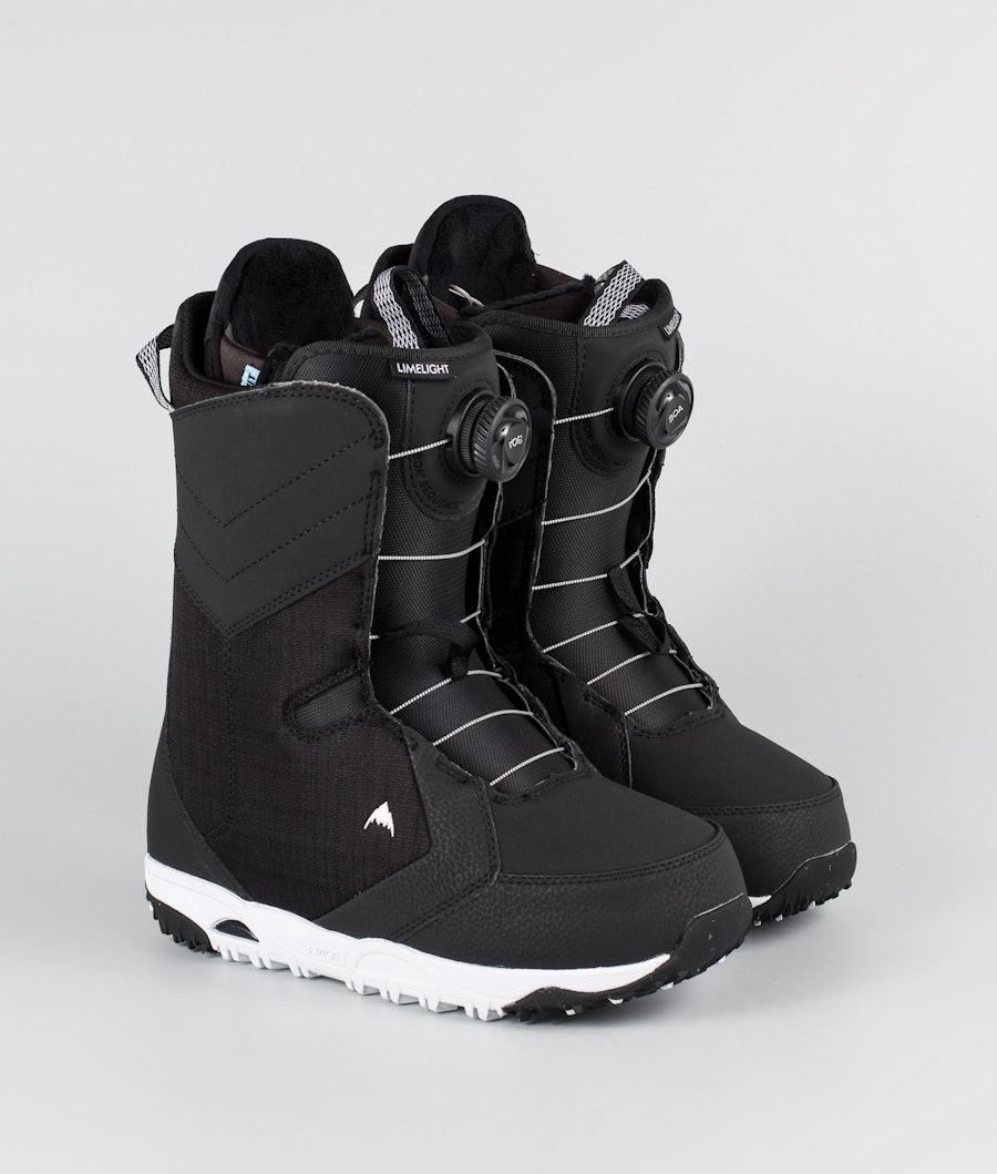 Burton W Limelight Boa Snowboard Boots Black