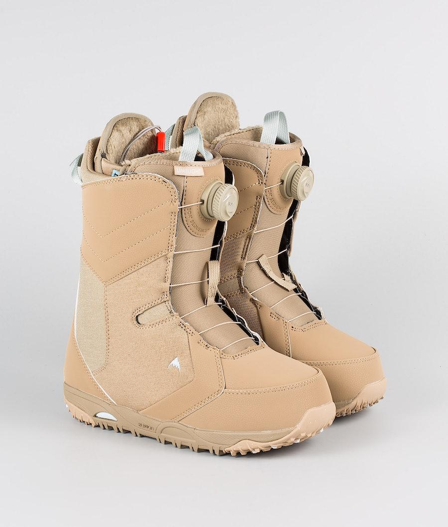 Burton W Limelight Boa Boots Snowboard Desert