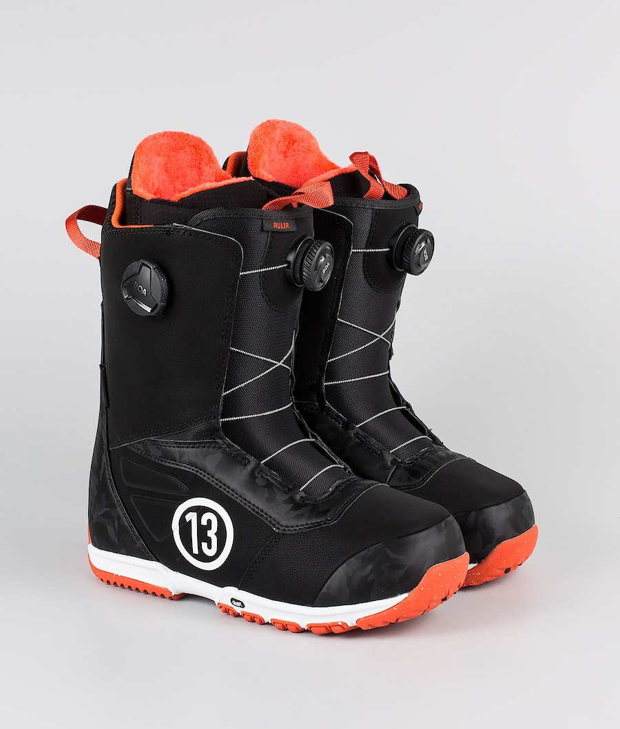 Burton Ruler Boa Snowboard Schoenen Black/Red