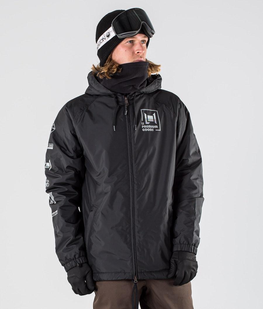 L1 Stooge Snowboard jas Black