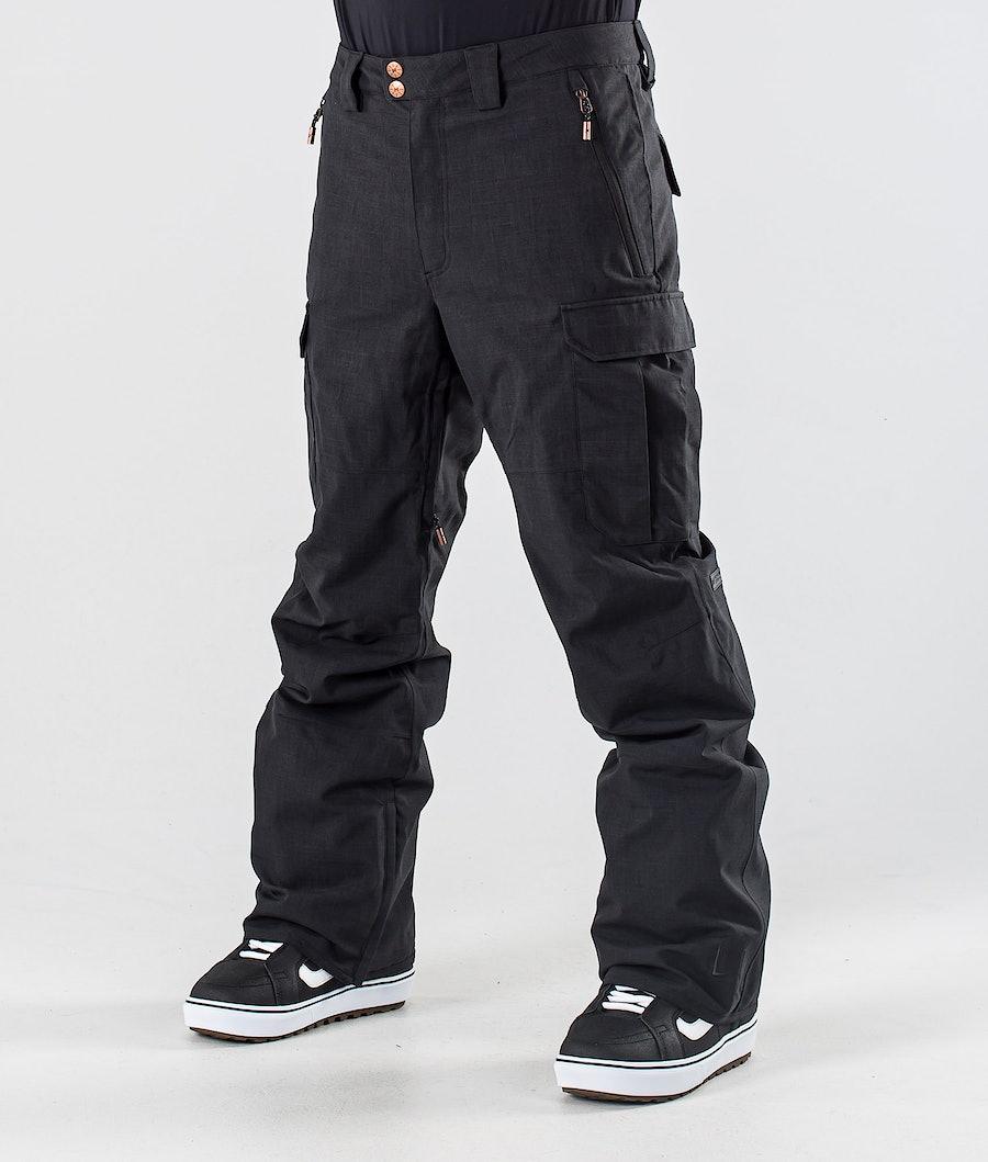 L1 Brigade Lumilautailuhousut Black