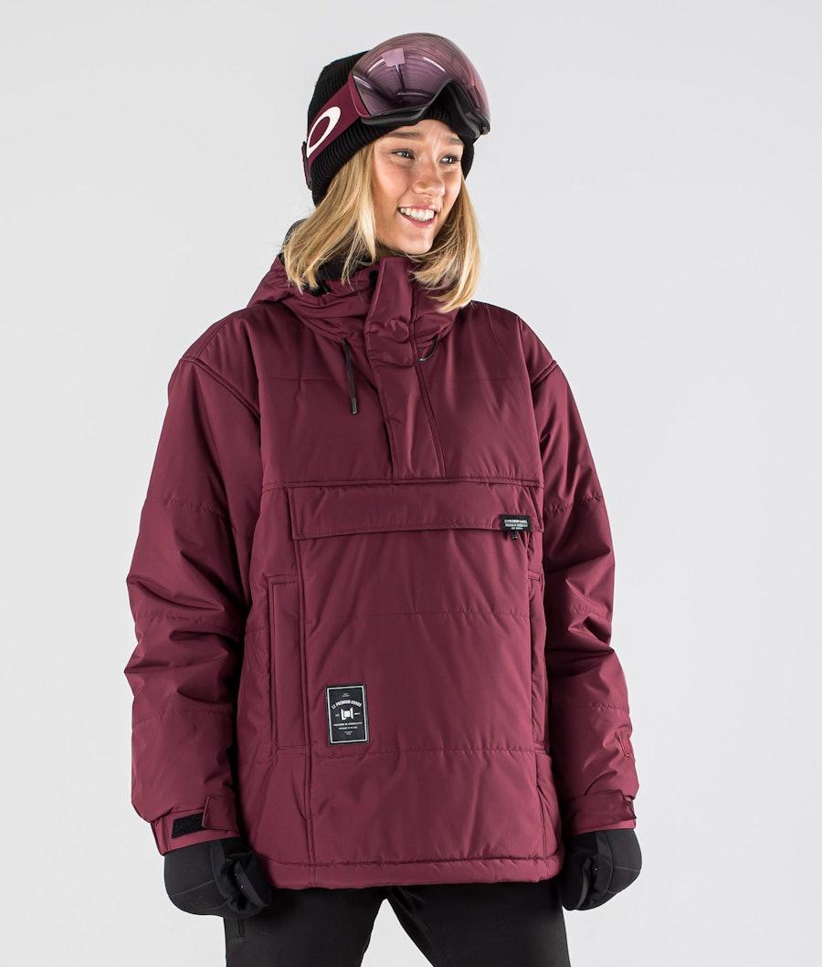 L1 Snowblind Snowboard Jacket Wine