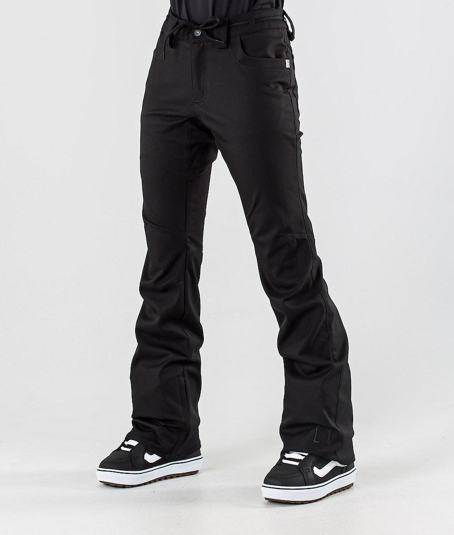 L1 Heartbreaker Twill Snowboard Pants Black