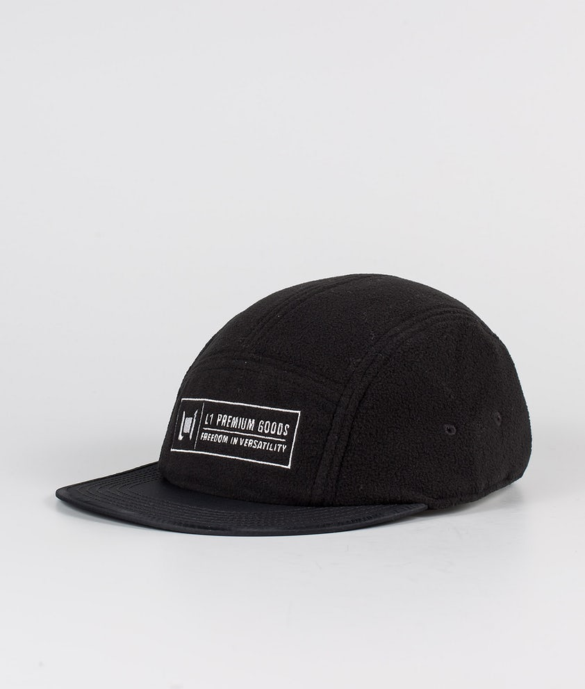 L1 Pitted Cap Black