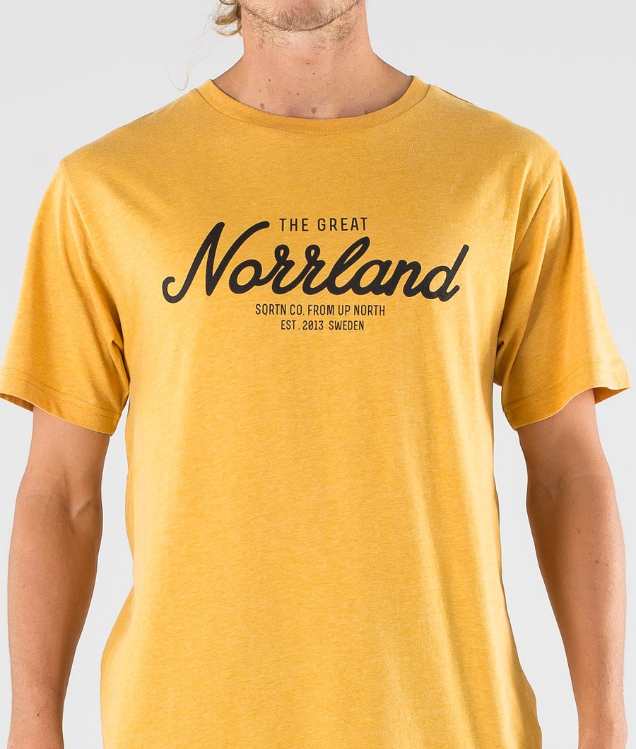 SQRTN Great Norrland T-shirt Mustard
