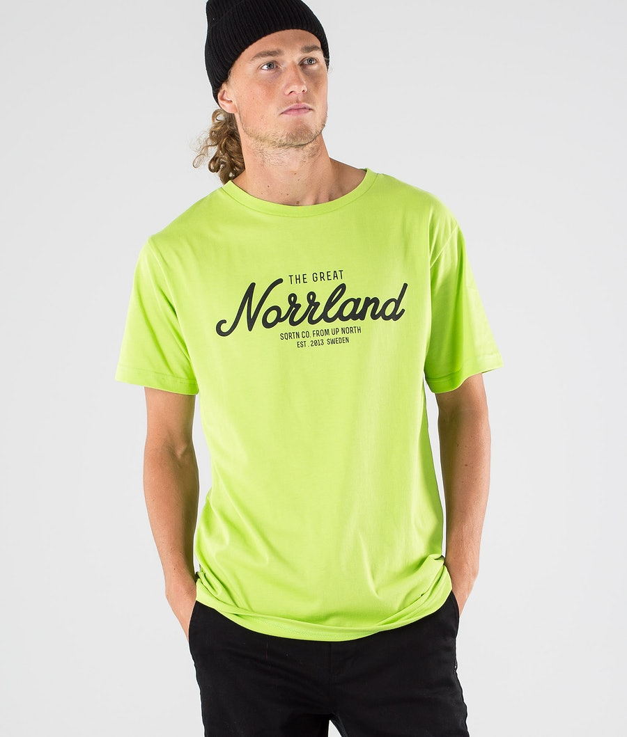 SQRTN Great Norrland T-shirt Pale Green