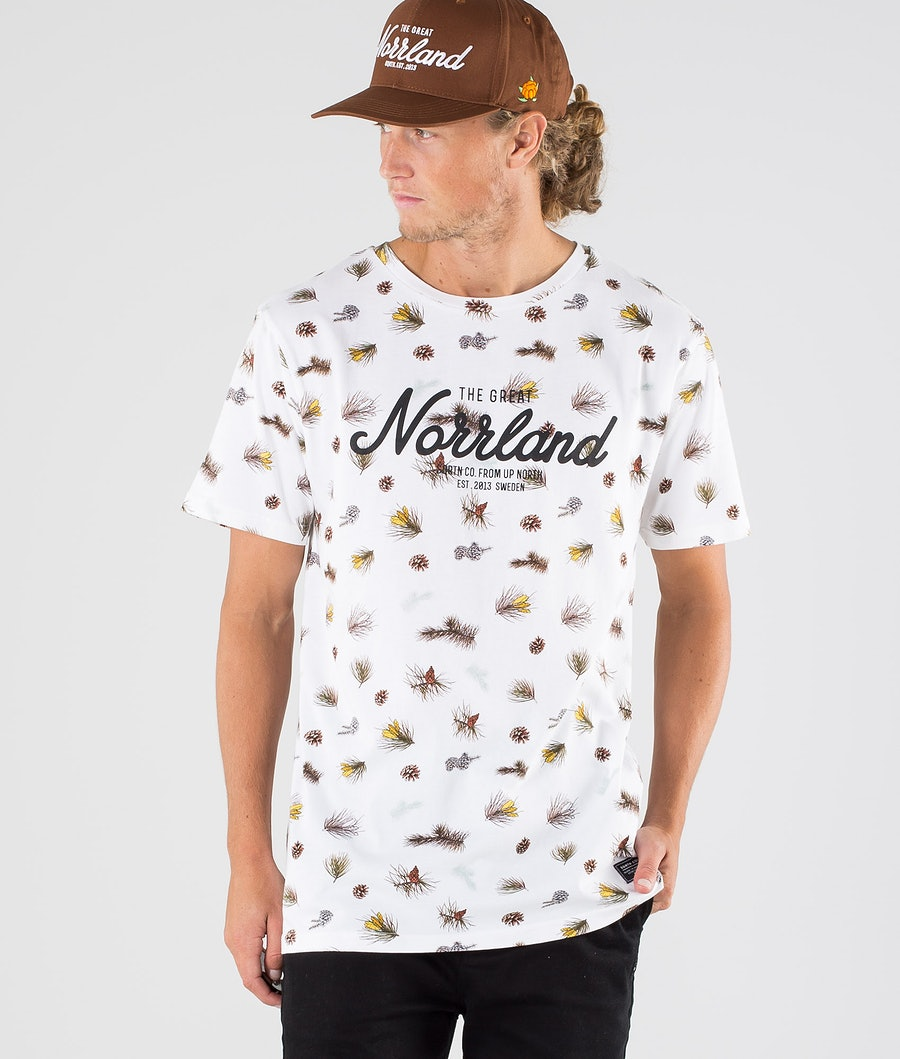 SQRTN Great Norrland T-Shirt Branch White