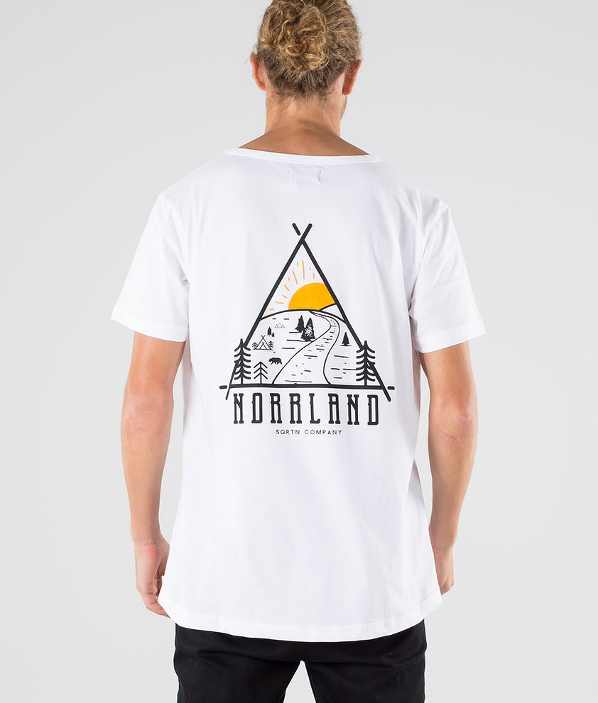 SQRTN Traingle T-shirt White
