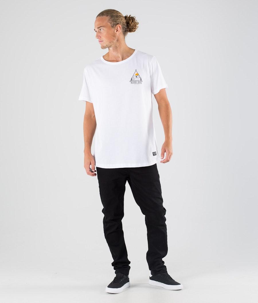 SQRTN Traingle T-shirt White
