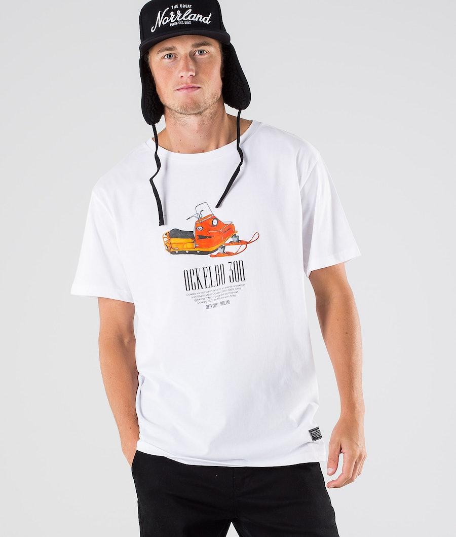 SQRTN Ockelbo T-paita White