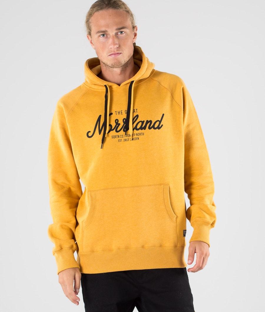 SQRTN Great Norrland Felpa con Cappuccio Mustard