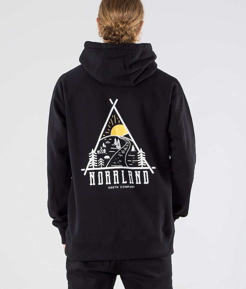 SQRTN Traingle Hood Black